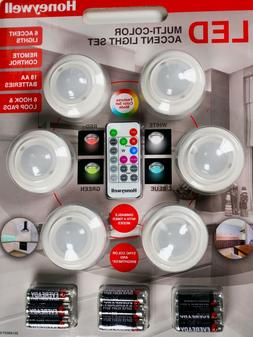 Honeywell Multi-Color LED Accent Light Set Remote Control NE
