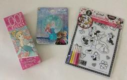 Disney Character Sets Of 3d Coloring Sticker Pazzel Lde Nigh