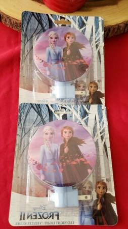 Disney Frozen 2 LED Night Lights.  Sold As A Pair.