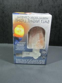 Himalayan Salt Wall Lamp Air Purifying Night Light - 100% Na