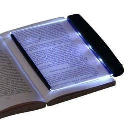 Kids LED Book Light Reading Night Light Flat Plate for Trave