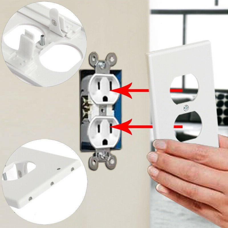 5 Outlet Wall Cover Safety Motion Sensor