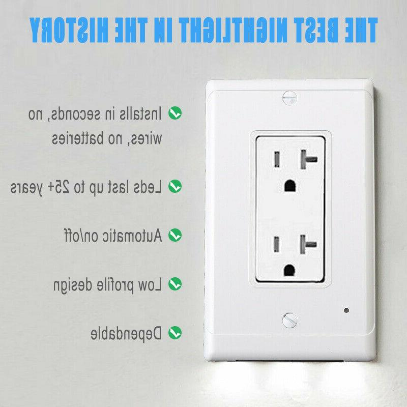 5 Wall Plate LED Cover With Motion