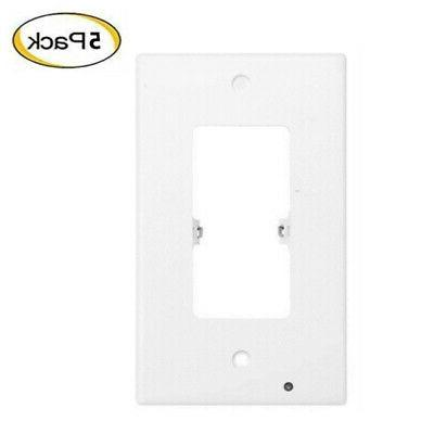 5 Pack Outlet Cover Wall with Led Night