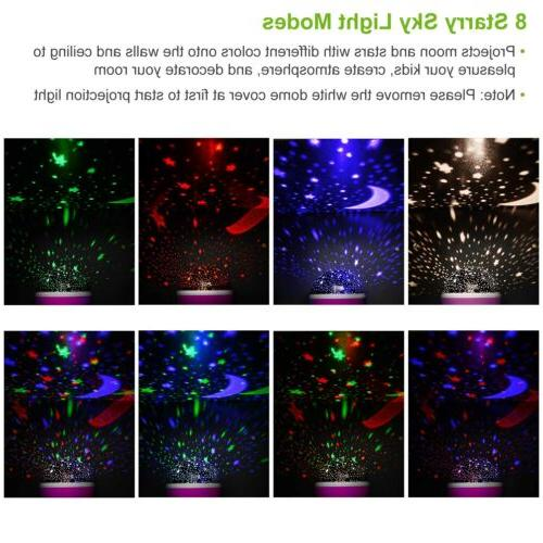 Constellation Light Kids Lamp Sky Projector