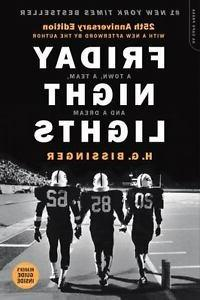 Friday Night Lights Book 25th Anniversary Edition by H. G. B