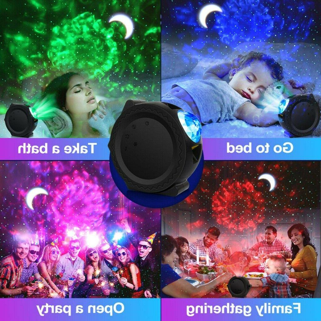 Galaxy Projector Wave Gift