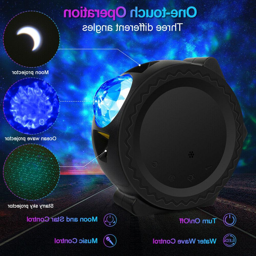 Galaxy Starry Projector Light Wave Projector Gift