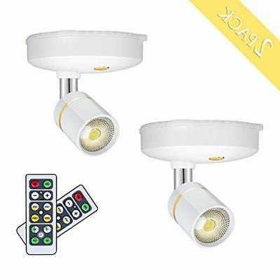 LEASTYLE Wireless Spot Lights Battery Operated Picture Light