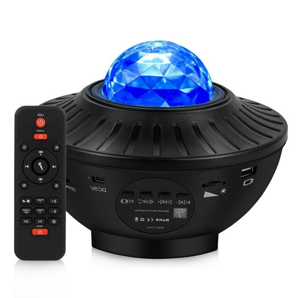 LED Light Projector Ocean Sky Party Remote