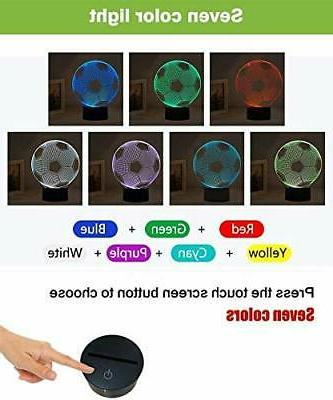 Night Lights for Children 3D Illusion LED Lamps