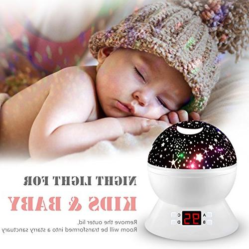 Night Kids, Multiple Projector with Function, Light for Baby Boys
