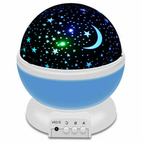 Starry Sky Lamp Kids Star Light Rotating Cosmos in US