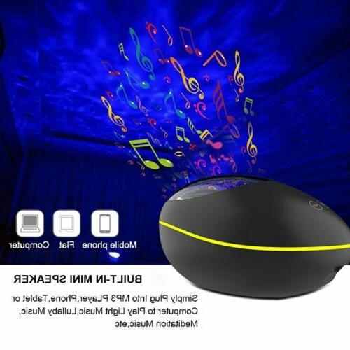 USB Multi-function Ocean Bluetooth Projection