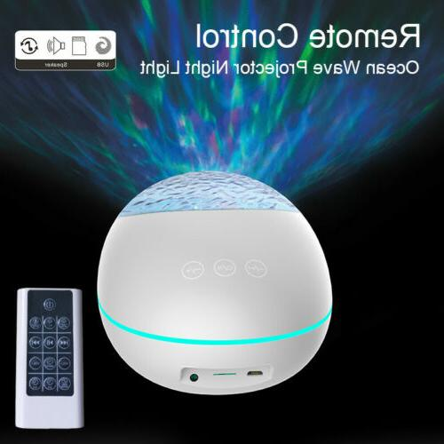 USB Multi-function Lucky Ocean Remote Control Projection Lamp