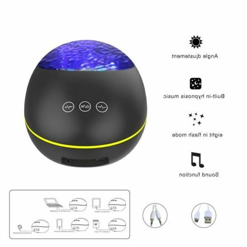 Ocean Remote Projection Lamp