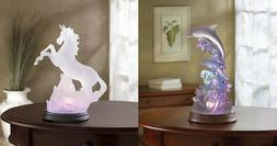 Lamp For Girls Room 3D Dolphin Boys Wave Prancing Unicorn LE