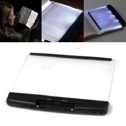 LED Book Light Reading Night Light Flat Plate for Travel Hom