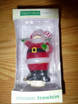 Lights In The Night Midwest Seasons Santa Clause Night Light