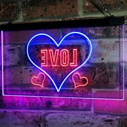 Love Night Light for Bedroom Wall D?????Bar Dual Color Led N