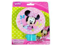 Disney Minnie Mouse Night Light - Room, Bathroom, Hallway Li