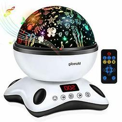 night light projector remote control and timer