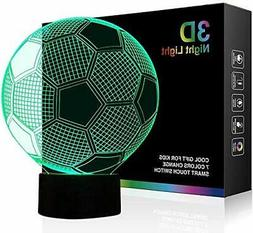 Night Lights for Children 3D Illusion LED Night Lamps Kids R