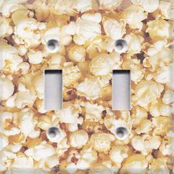 Popcorn Movie Night Themed Light Switch Cover Choose Your Co