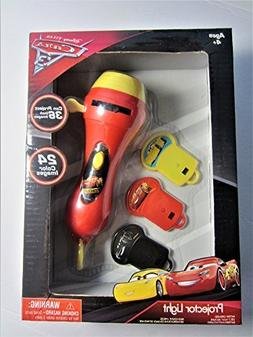 Disney Projector Light Cars 3 - 24 Color Images, Projects 36