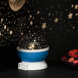 Rotating Projector Starry Night Lamp Star Sky Projection LED
