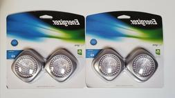 Energizer Tap LED Lights. Wireless. 2 Pack, 2 Sets. Uses 3AA