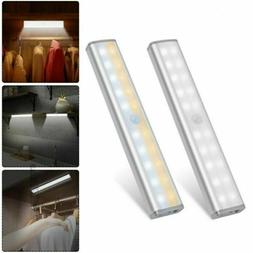 usb rechargeable led closet lights wireless motion