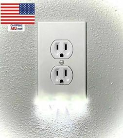 Multistyle White Wall Plate Outlet Cover Duplex Multipack